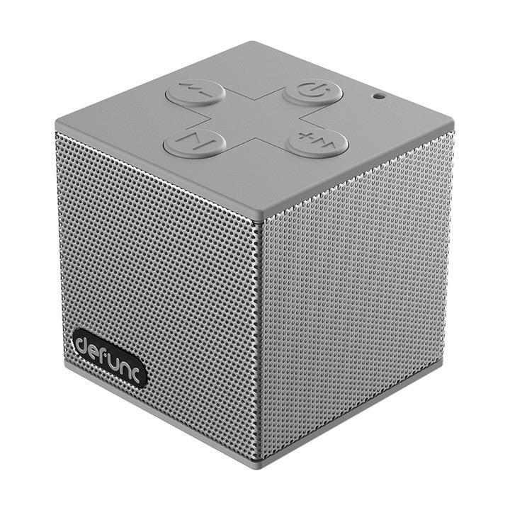 Defunc Travel Bluetooth Φορητό Hχείο - Ασημί - - D2052