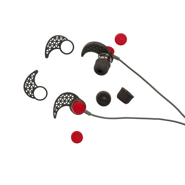Ακουστικά Handsfree Outdoor Makos Sport - Κόκκινο/Γκρι - - OT1150-R