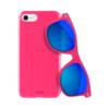 Puro Θήκη + Γυαλιά Ηλίου για iPhone 7/8 - Ροζ - - IPC647BOOKC1BLK