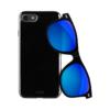 Puro Θήκη + Γυαλιά Ηλίου για iPhone 7/8 - Μαύρο - - IPC64703BLUE