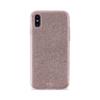 Puro Shine Θήκη για iPhone Xs Max - Ροζ-Χρυσαφί - - IPCX65SHINESIL