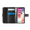 Puro Bookstyle Wallet Θήκη για iPhone Xs Max - Μαύρο - - IPCX65HIPPIEC3RED