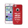 Puro Θήκη Happiness για iPhone 5/5S - Κόκκινο - - RFX-017