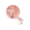Richmond&Finch | Καλώδιο Φόρτισης και Μεταφοράς Δεδομένων Lightning - Pink Marble - - CWUSB-014