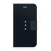 White Diamond Θήκη Bookstyle Wallet για iPhone Plus (6/6S) - Μαύρο - - 1311TRI6