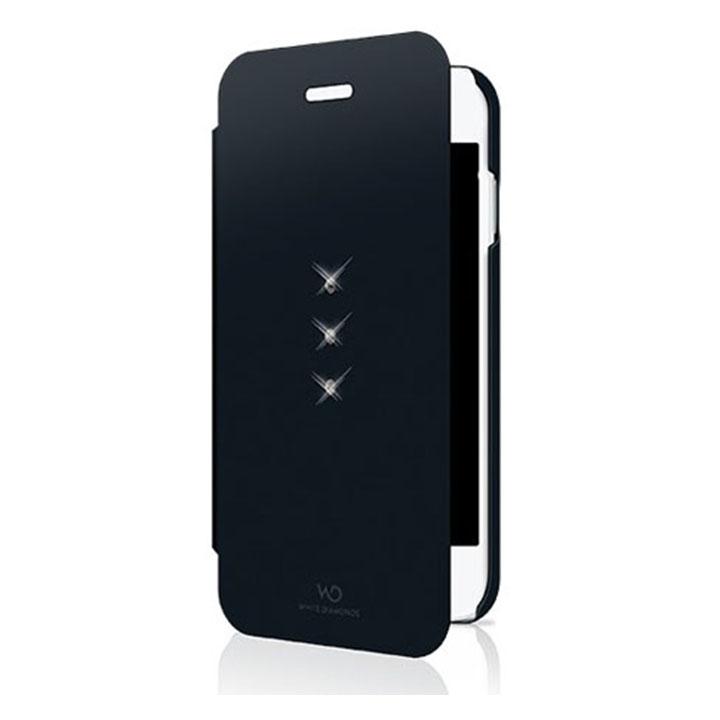 White Diamond Θήκη Bookstyle για iPhone 6/6S - Μαύρο - - 1311TRI6
