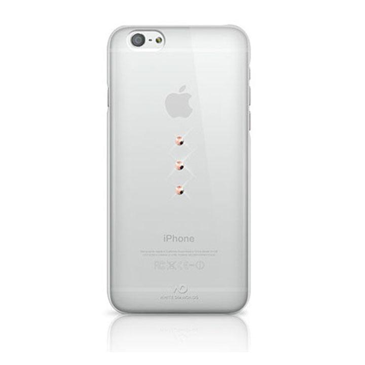 White Diamond Θήκη Crystal Trinity Gold για iPhone 6/6S - Διάφανο - - 1310TRI84