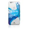 White Diamond Θήκη Crystal Liquid για iPhone 6/6S - Μπλε - - 1310TRI41