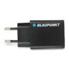 BLAUPUNKT Φορτιστής Σπιτιού 2.4 A-5V Με Αντάπτορα USB - Μαυρό - - BP-CC2DB-24A