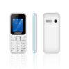 "BLAUPUNKT FS04 Κινητό τηλέφωνο με κάμερα 0,3 MP και LCD οθόνη 1,8"" - Άσπρο/Μπλε - - BLFS04BLKSIL"