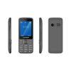 """BLAUPUNKT FM03 Κινητό τηλέφωνο με κάμερα 1,3 MP και LCD οθόνη 2,4"""" - Γκρι - - BLFM03MAZ"""