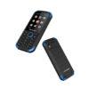 "BLAUPUNKT SAND Αδιάβροχο και ανθεκτικό Κινητό τηλέφωνο με κάμερα 1,2 MP με flash και LCD οθόνη 2,8"" - Μπλε - - BLSANDYEL"