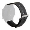 Puro Silicon Universal Wristband 20mm - Μαύρο - - UNIWBICON20ROSE