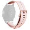 Puro Silicon Universal Wristband 20mm - Ροζ - - UNIWBICON22BLK