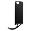 "Puro Θήκη Cover Silicon with necklace for iPhone 7/8/SE 2020 4.7"" - Μαύρο - - IPC747ICONCBROSE"