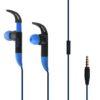 Puro Stereo Handsfree Sport - Μπλε - - IPHF27ICONDKBLUE