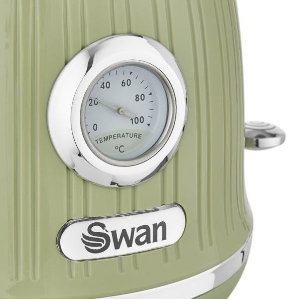 SK31040GN Swan Retro Kettle Green D1