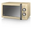 Swan 900W Manual Microwave - Μπεζ - - SK31040CN