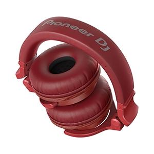 Pioneer HDJ-CUE1BT Headphones With Bluetooth - Κόκκινο - - HDJ-CUE1BT-R