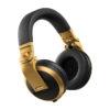 Pioneer HDJ-X5BT Headphones With Bluetooth - Μαύρο Χρυσό - - HDJ-X5BT-R