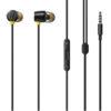 Realme Wired Earbuds-2 - Μαύρο - - SE-C3T-GR