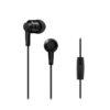 Pioneer SE-C3T In-Ear Headphones - Μαύρο - - SE-C3T-GR
