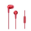 Pioneer SE-C3T In-Ear Headphones - Κόκκινο - - SE-C3T-P