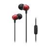 Pioneer SE-QL2T-R In-Ear Headphones - Μαύρο Κόκκινο - - SE-QL2T-P