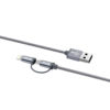 Zendure Apple MFI & micro cable (30cm) - Γκρι - - ZDNMC1-GY