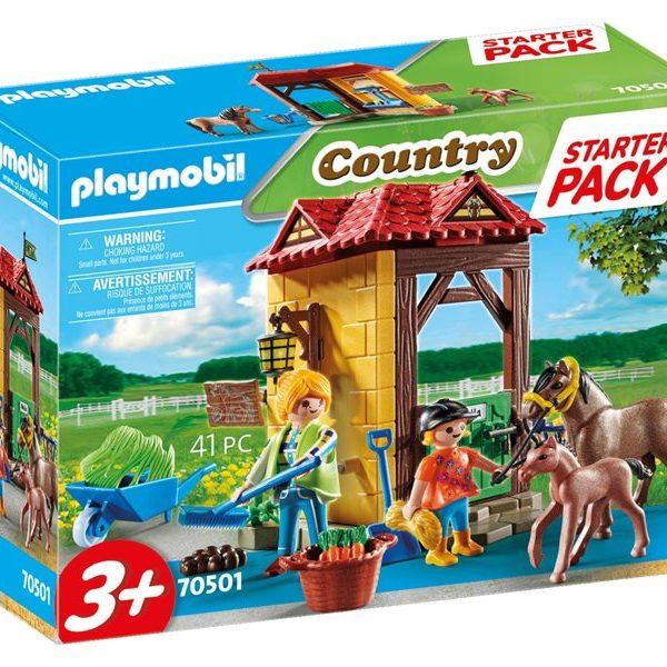 Playmobil Starter Pack Στάβλος αλόγων