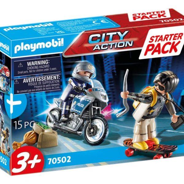 Playmobil Starter Pack Αστυνομική καταδίωξη |