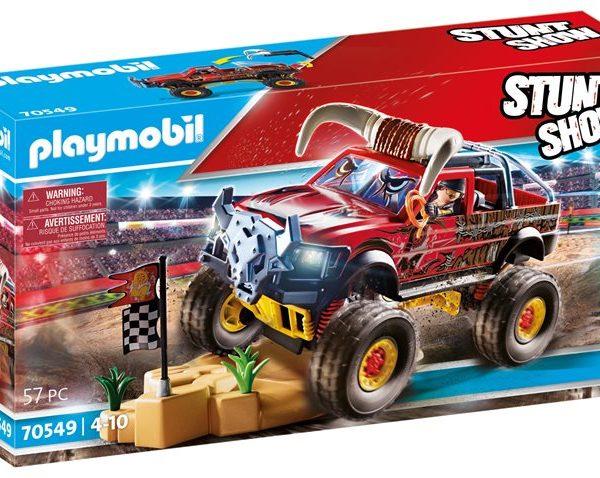 Playmobil Monster Truck Κόκκινος Ταύρος