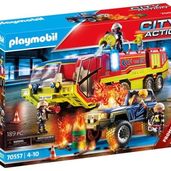 Playmobil Πυροσβεστική ομάδα διάσωσης