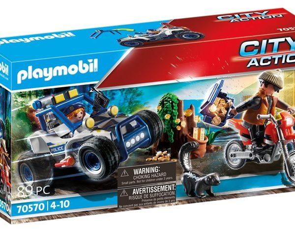 Playmobil Αστυνομική καταδίωξη off-road