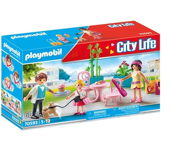 Playmobil Fashion café