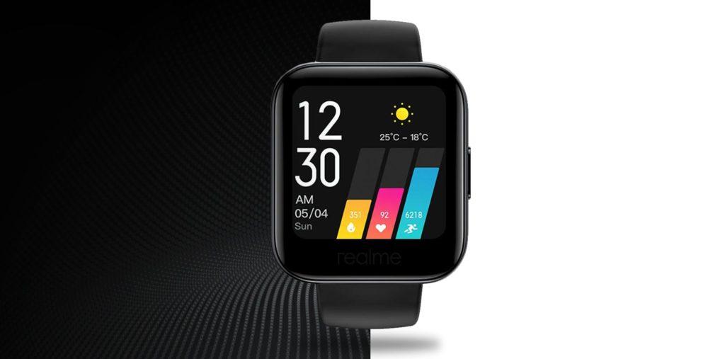 Realme Watch 1 - Μαύρο - - RMA161BLK