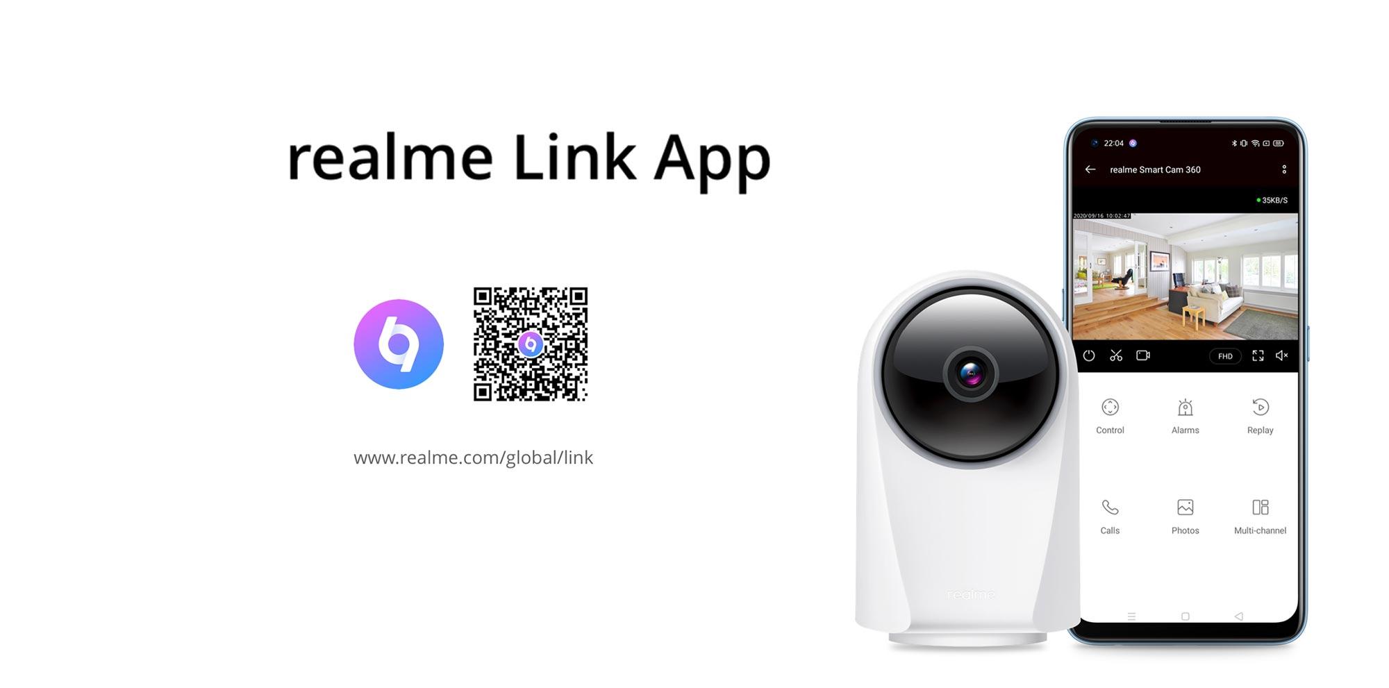 Realme Smart Camera 360° - Άσπρο - - RMH2001