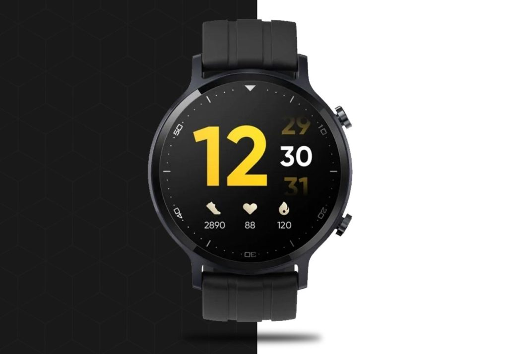 Realme smart watch S - Μαύρο - - RMA207
