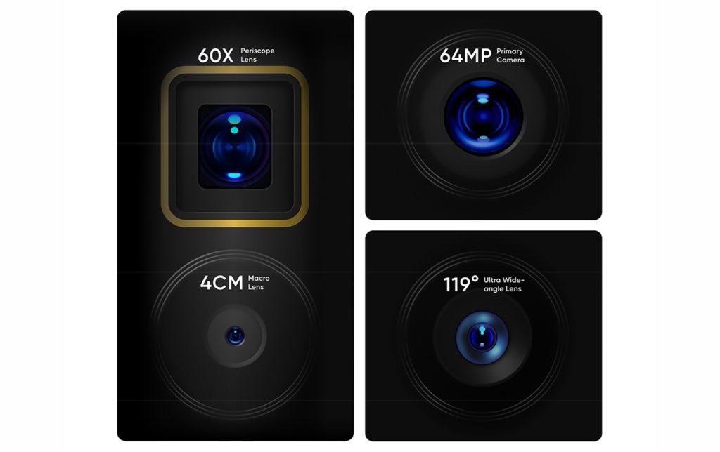 Realme X3 Superzoom (RMX2086 12/256GB) Glacier White - - RMX2086256WHI