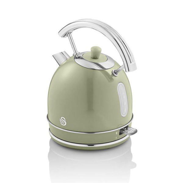 Swan Retro 1.8 Litre Dome Kettle