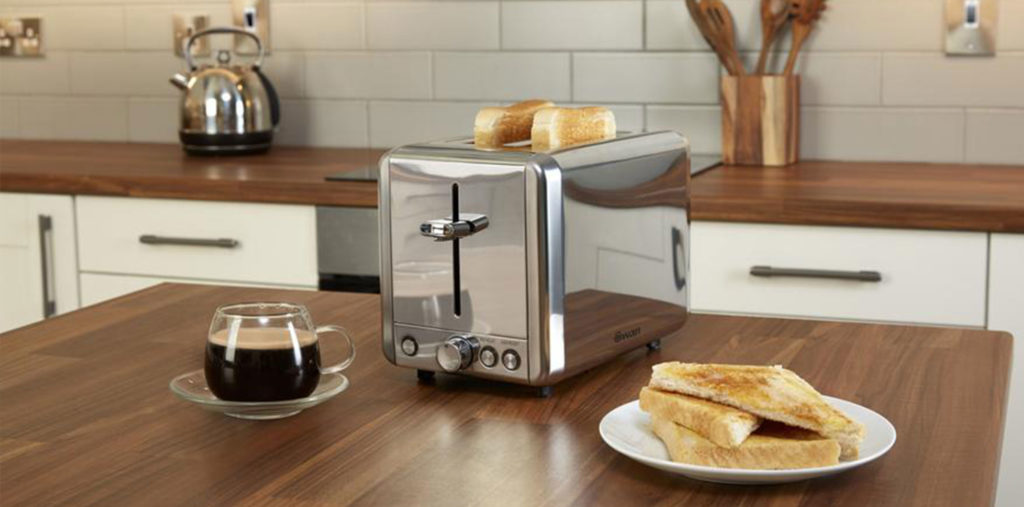 Swan Classic 2 Slice Toaster - Ασημί - - ST14062N