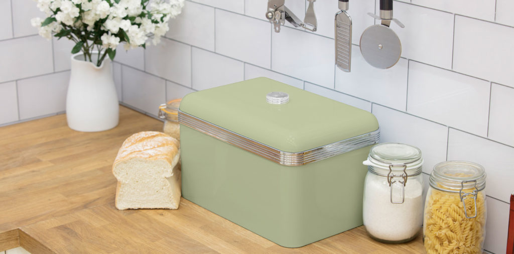 Swan Retro Bread Bin - Πράσινο - - SWKA1010GN