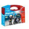 Playmobil Βαλιτσάκι Αστυνόμος με μοτοσικλέτα