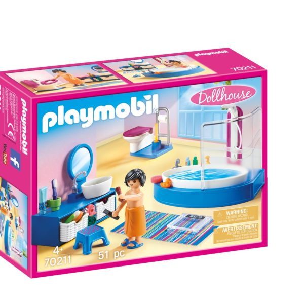 Playmobil Πολυτελές Λουτρό με Μπανιέρα