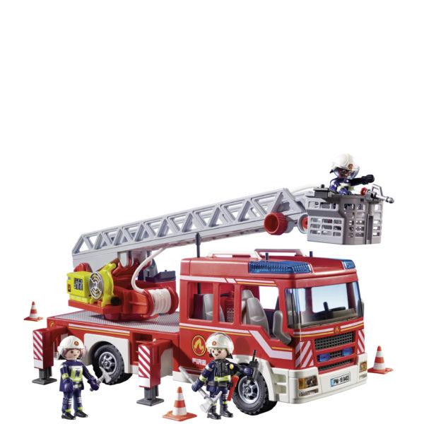 Playmobil Όχημα πυροσβεστικής με σκάλα και καλάθι