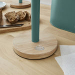 intellizen_Nordic_Towel_Pole_with_Wooden_Base_3