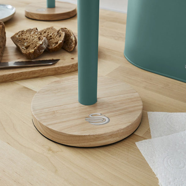 intellizen_Nordic_Towel_Pole_with_Wooden_Base_2