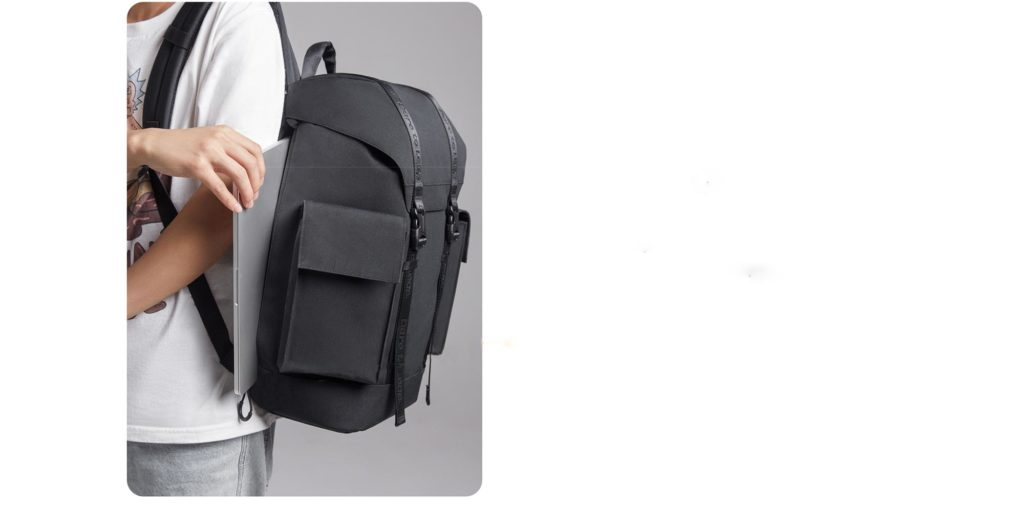 Realme Adventurer Backpack - Μαυρο - - RMT2001BLK