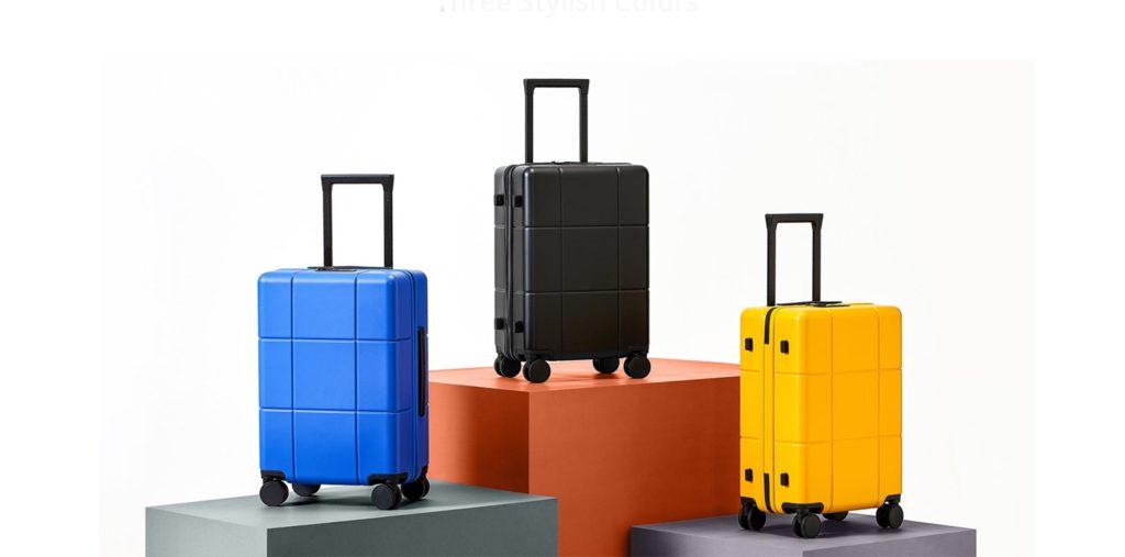 Realme Adventurer Luggage(56*37,5*23,5) - Κίτρινο - - RMT2002YEL