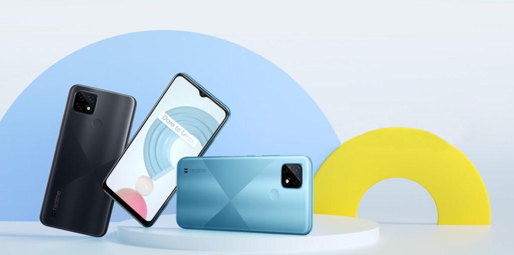 Realme C21 (64GB) - Blue - - RMX3201-64BLUE